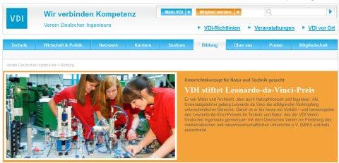 zur VDI-Website