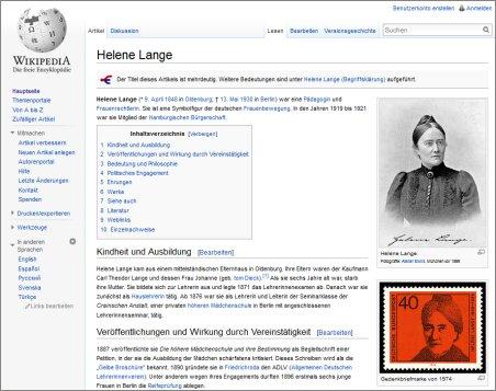 zu Wikipedia