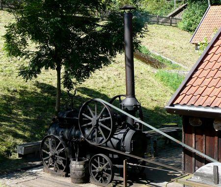 Foto Dampfmaschine