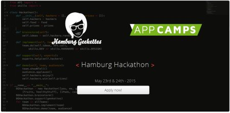Hamburg Hackathon