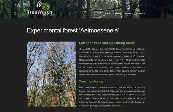 EFA - Experimental forest Aelmoeseneie