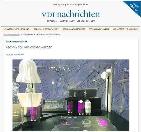 Technik unsichtbar - VDI
