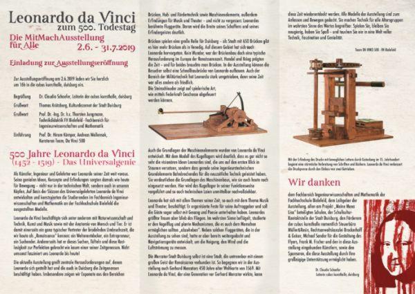 Bild vom Flyer zur Ausstellung mit vielen Hintergrundinfos
