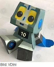 Foto Roboter Louis / Bildquelle: VDIni