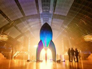 Bild der Rakete Fairydust