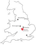 Lageplan Website Uni Warwick