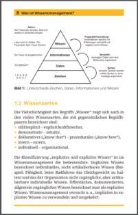 Abbildung Inhaltsseite mit Wissenspyramide