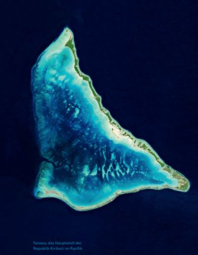 Tarawa, Atoll im Pazifik